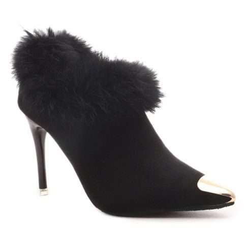 GET $50 NOW | Join RoseGal: Get YOUR $50 NOW!http://www.rosegal.com/boots/suede-faux-fur-point-toe-899938.html?seid=2275071rg899938