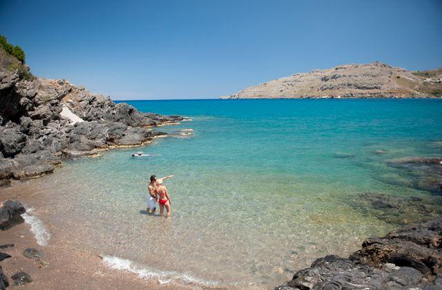 Plage Du Club Marmara Rhodes Lindos 4 Vacances Voyage