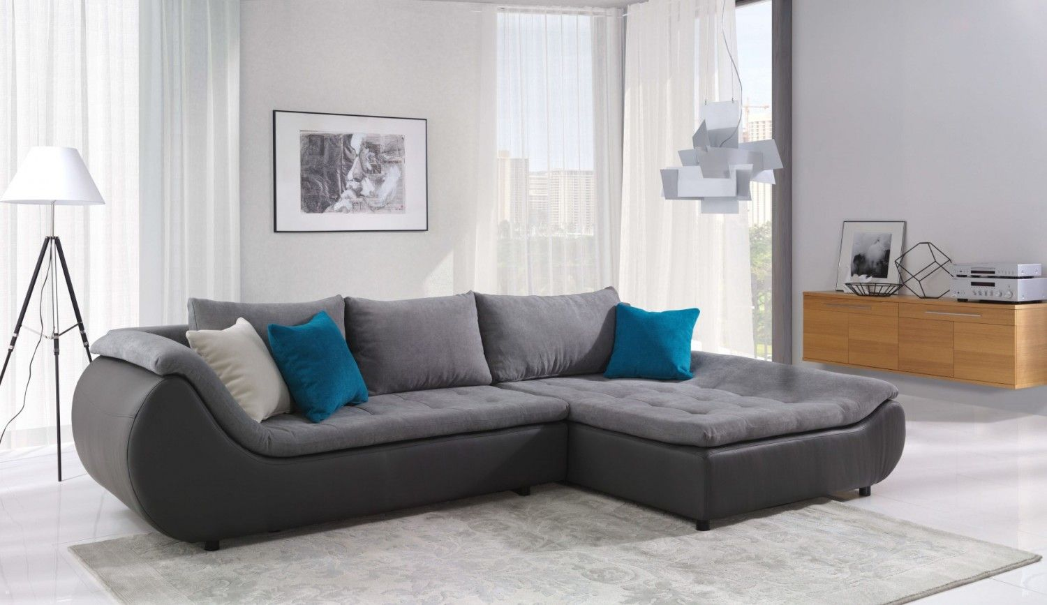 Prato Sectional Sleeper Right Facing Chaise | Sleeper Sofas ...