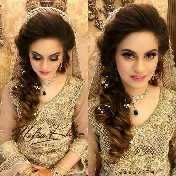 Wedding Hairstyle Pakistani: Http://www.fashioncluba.com/2017/01/stylish-and-trendy