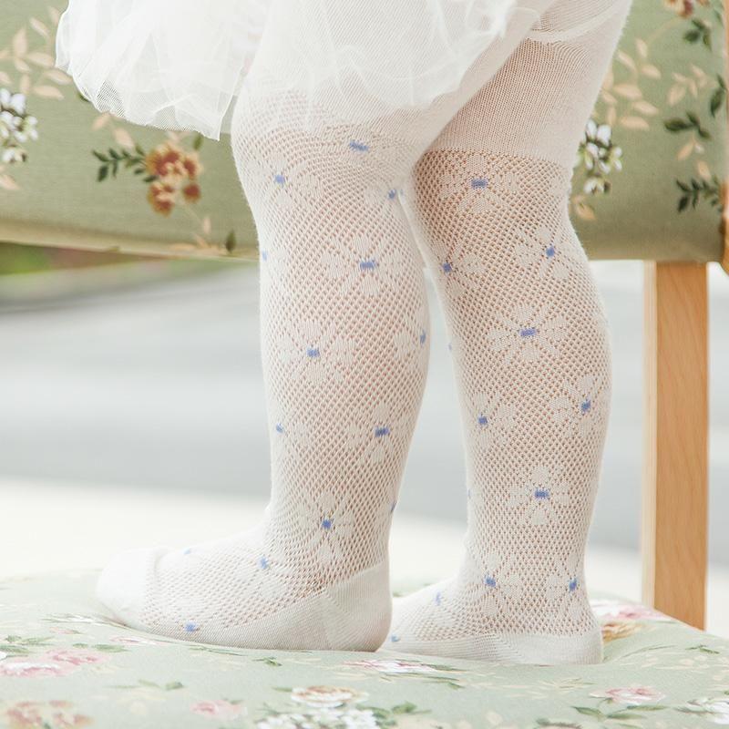 Baby Girls Fashion Cotton Tights Infant Toddler Mesh Net Leggings Stocking Pant