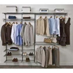 @Overstock - This 6-foot freedomRail ventilated closet kit can be used in any area of the house that needs a storage solution. It's completely adjustable; move shelves up and down and left and right any time without tools.http://www.overstock.com/Home-Garden/FreedomRail-6-Foot-White-Ventilated-Closet-Kit/6423734/product.html?CID=214117 $468.99