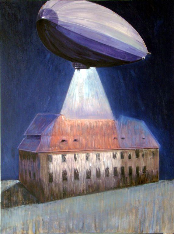 "Filip Pręgowski; Oil, Painting ""It's Beginning"""