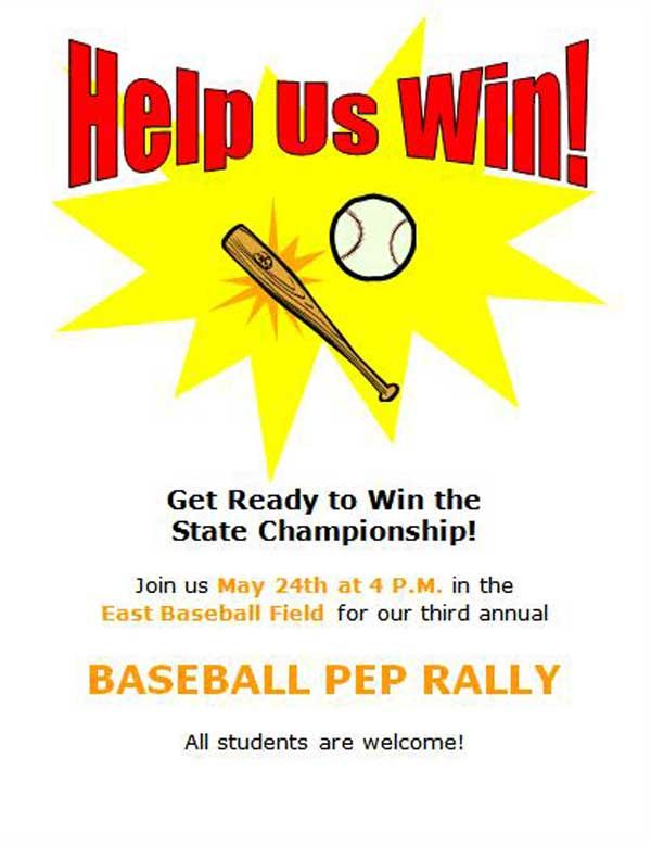 Baseball Flyer Template The multiple flyers can be created for - create raffle tickets in word