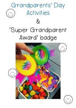 grandparents day invitation template
