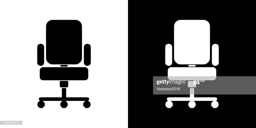 Office Chair Icon Illustration Ad Aff Chair Office