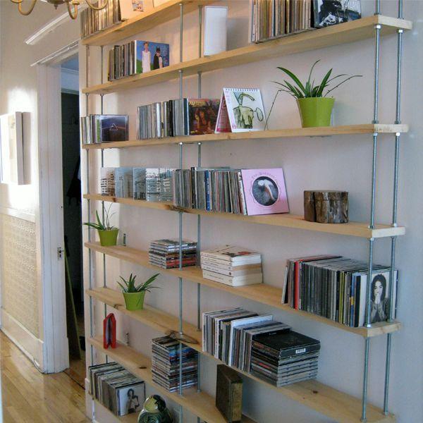 Estanteria para decorar pasillos recibidores mueble recibidor recibidor y muebles - Decoracion de estanterias ...