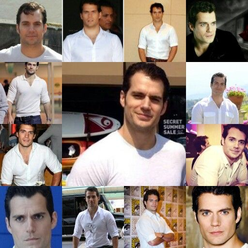 Henry Cavill Photo Collage T-Shirt