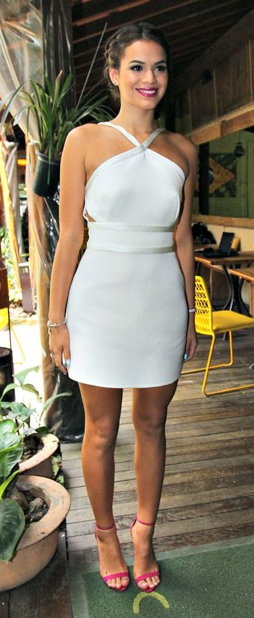 Bruna Marquezine Com Imagens Vestidos Estilosos Vestidos