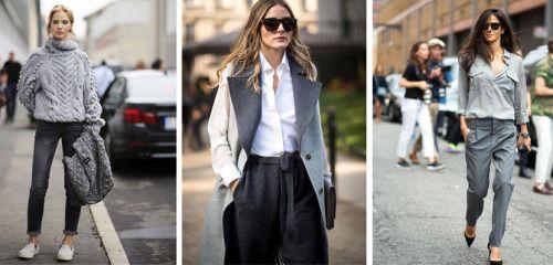 Moda Otoño-Invierno: Todo al gris