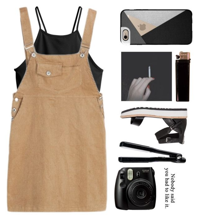 """""""And your son is smoking cannabis"""" by marysilvs1 ❤ liked on Polyvore featuring Casetify, Dolce Vita, GAS Jeans, T3, H&M, black, beige, polyvorecommunity and polyvoreeditorial"""