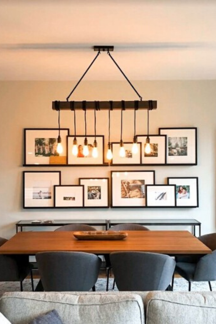Dining Room Gallery Wall In 2020 Dining Room Gallery Wall Dining Room Feature Wall Dining Room Layout