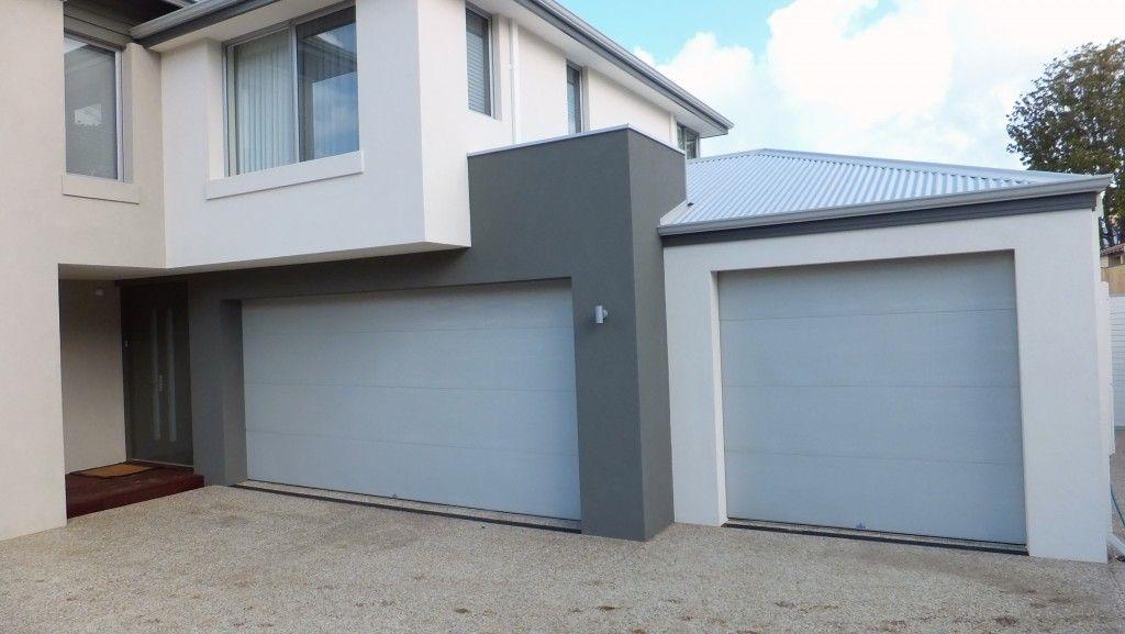 Pin By Michelle Watson On House Ideas Grey Garage Doors