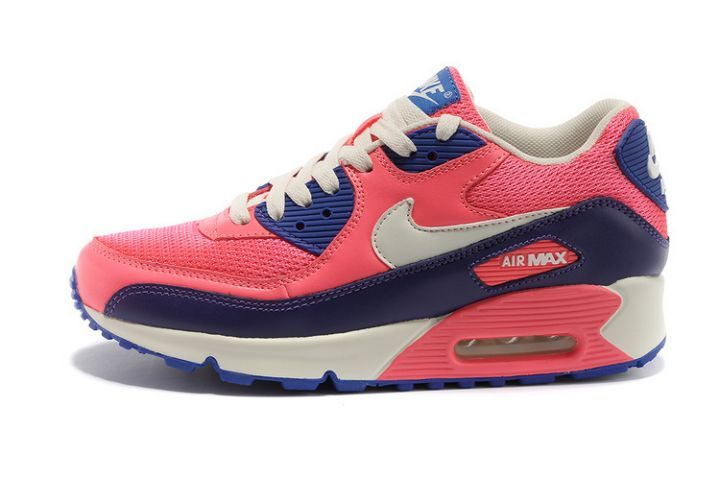 taille 40 19987 134a7 Authentique Nike Air Max 90 Essential Rose Flash Blanc ...