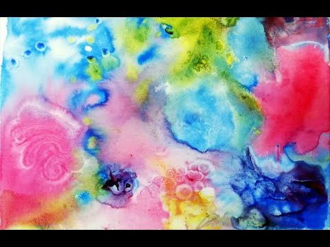 Acrylmalerei Farben Fliessen Wie Aquarell Acrylic Painting Colors