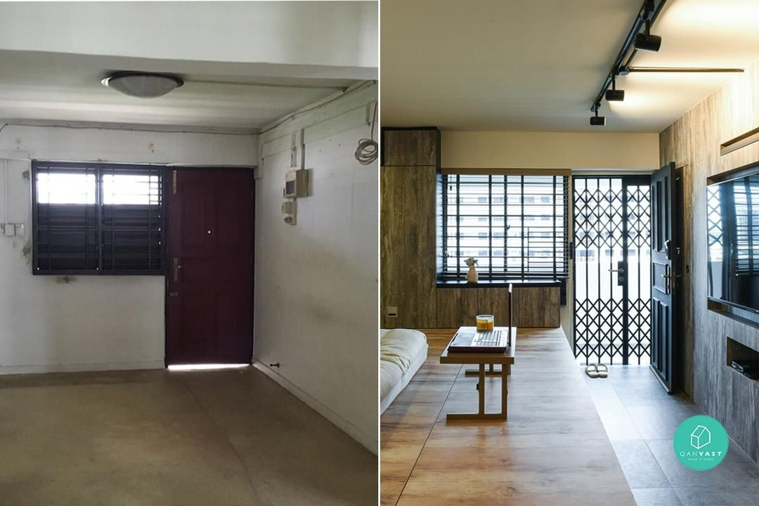 Before and After: 6 Extreme HDB Makeovers In Singapore | Interiors