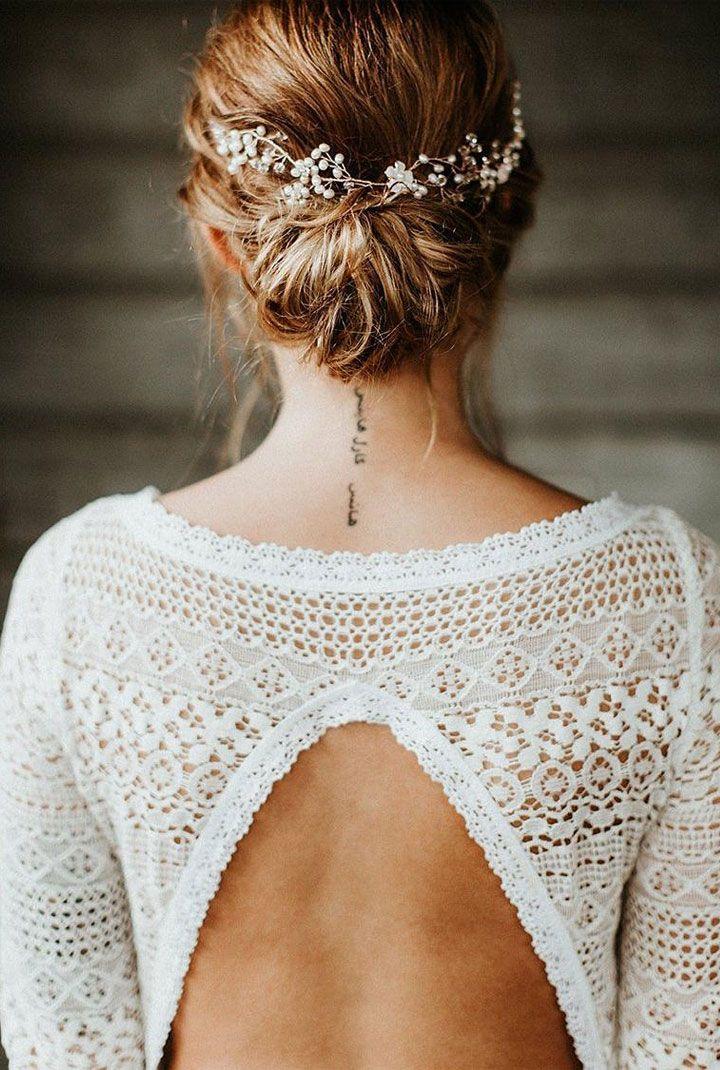 Beautiful wedding dress inspiration  #weddingdress #weddinggown #bridaldress #bridalhair #updo