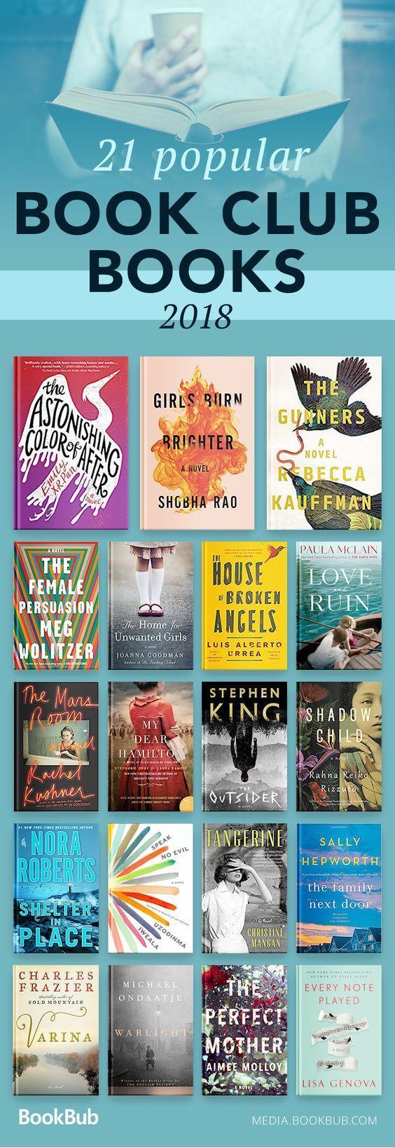 best book club books fall 2018