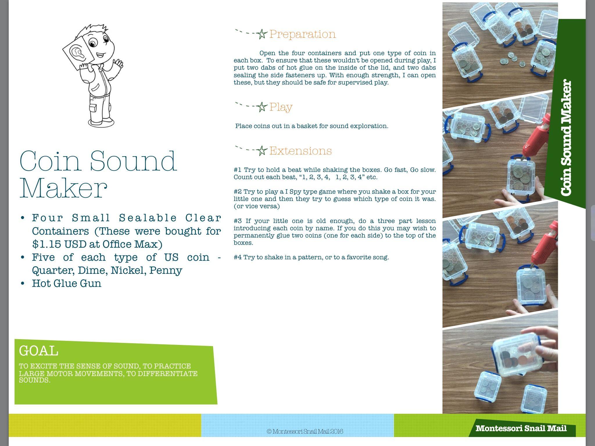 Infants 0 18mo Montessori Activity Guide Free