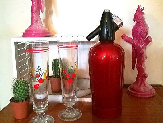 Vintage soda syphon, Vintage bar syphon, Vintage BOC Sparklets Hostmaster MK2 Soda Syphon 1959, Vintage man cave bar decor Vintage bar decor (scheduled via http://www.tailwindapp.com?utm_source=pinterest&utm_medium=twpin&utm_content=post100757277&utm_campaign=scheduler_attribution)