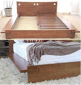 Twin Over Twin Bed Frames With Nails