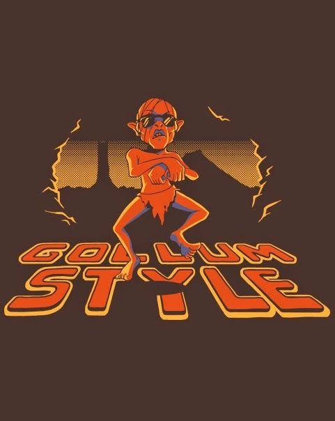 El desván del Freak: Gollum Style.