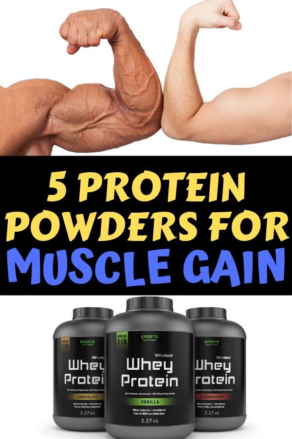 Best 5 Protein Powders For Bodybuilders To Build Muscle ...