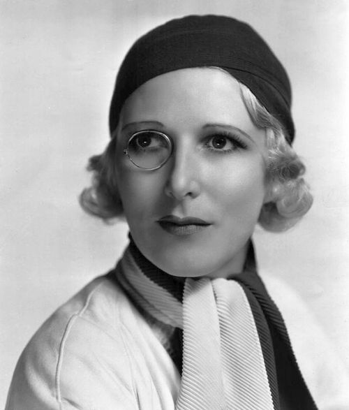 Heather Thatcher (September 3, 1896 – February 15, 1987) with an awesome monocle.