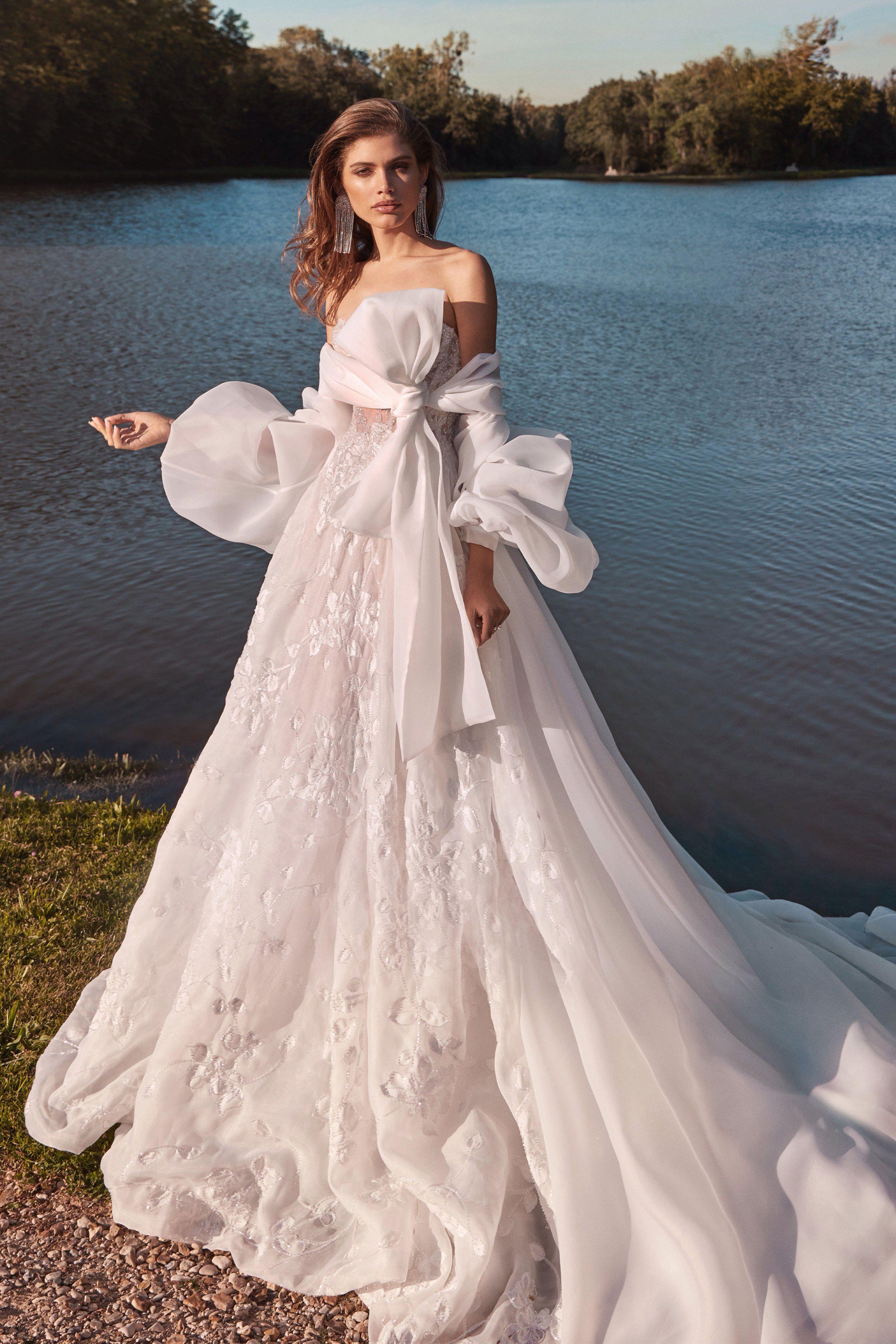 Galia lahav bridal fall 2020 fashion show couture