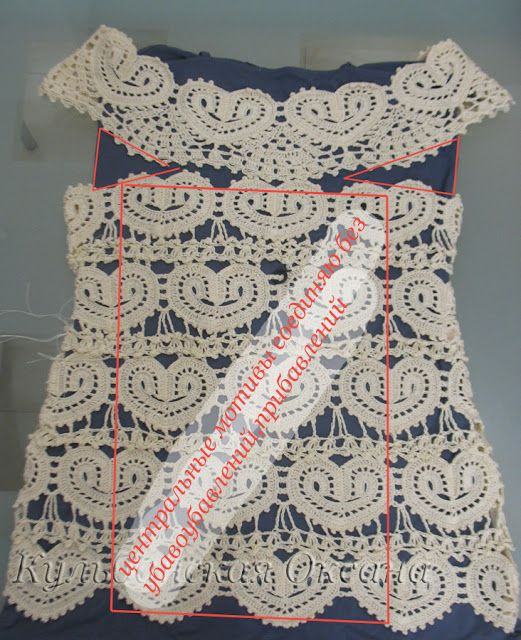 Graficos y Crochet dress with pattern and more
