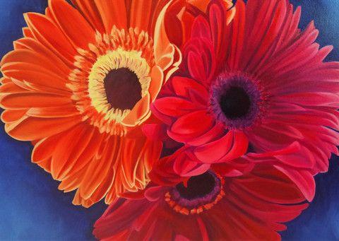 "25 Trove Exhibition ""Petalicious"" Original Artwork 59 cm x 76 cm"