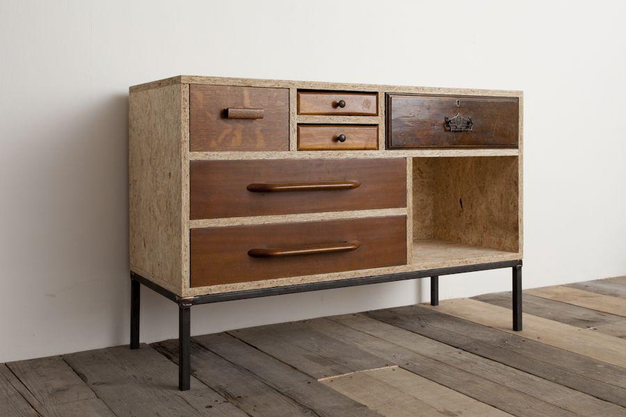 muebles con tableros osb   o s b   Pinterest   Drawers