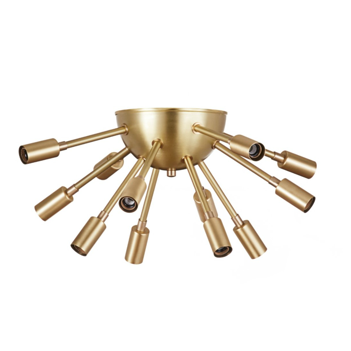 eclectic lighting. Brass Flushmount Sputnik Light - We Love This Funky, Eclectic Lighting. It Would Make Lighting N