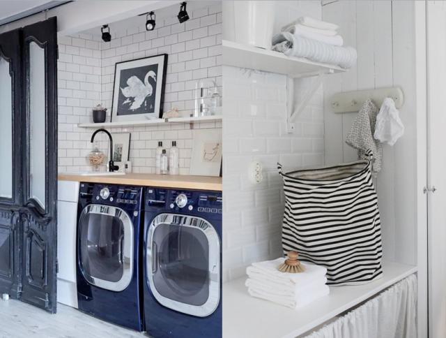 des inspirations pour am nager une buanderie buanderie. Black Bedroom Furniture Sets. Home Design Ideas