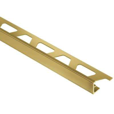 Brass Tile Edging Trim Tile Tools Supplies The Home Depot Tile Edge Trim Tile Edge Metal Tile