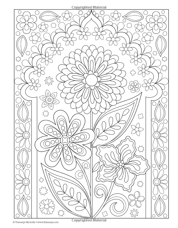 Follow Your Bliss Coloring Book Thaneeya Mcardle 0499994340788 Books Amazon Ca Mandala Coloring Pages Coloring Books Flower Coloring Pages