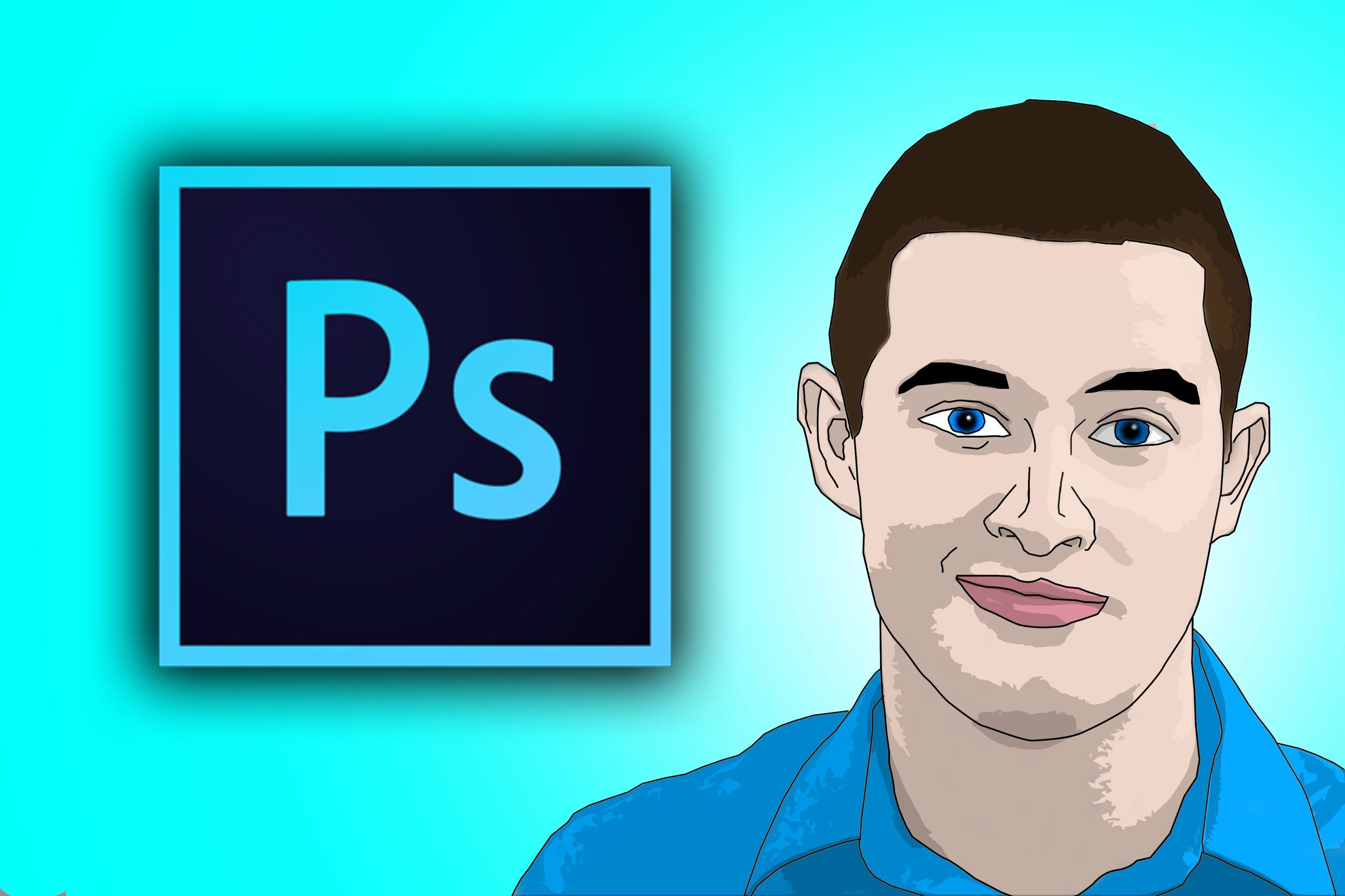 How To Cartoon Yourself In Photoshop Cc Cartoon Tutorial Photo To Cartoon Create Cartoon Character