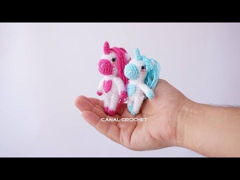 Amigurumi Unicornio Tutorial : Unicornio amigurumi tutorial youtube amigurumis
