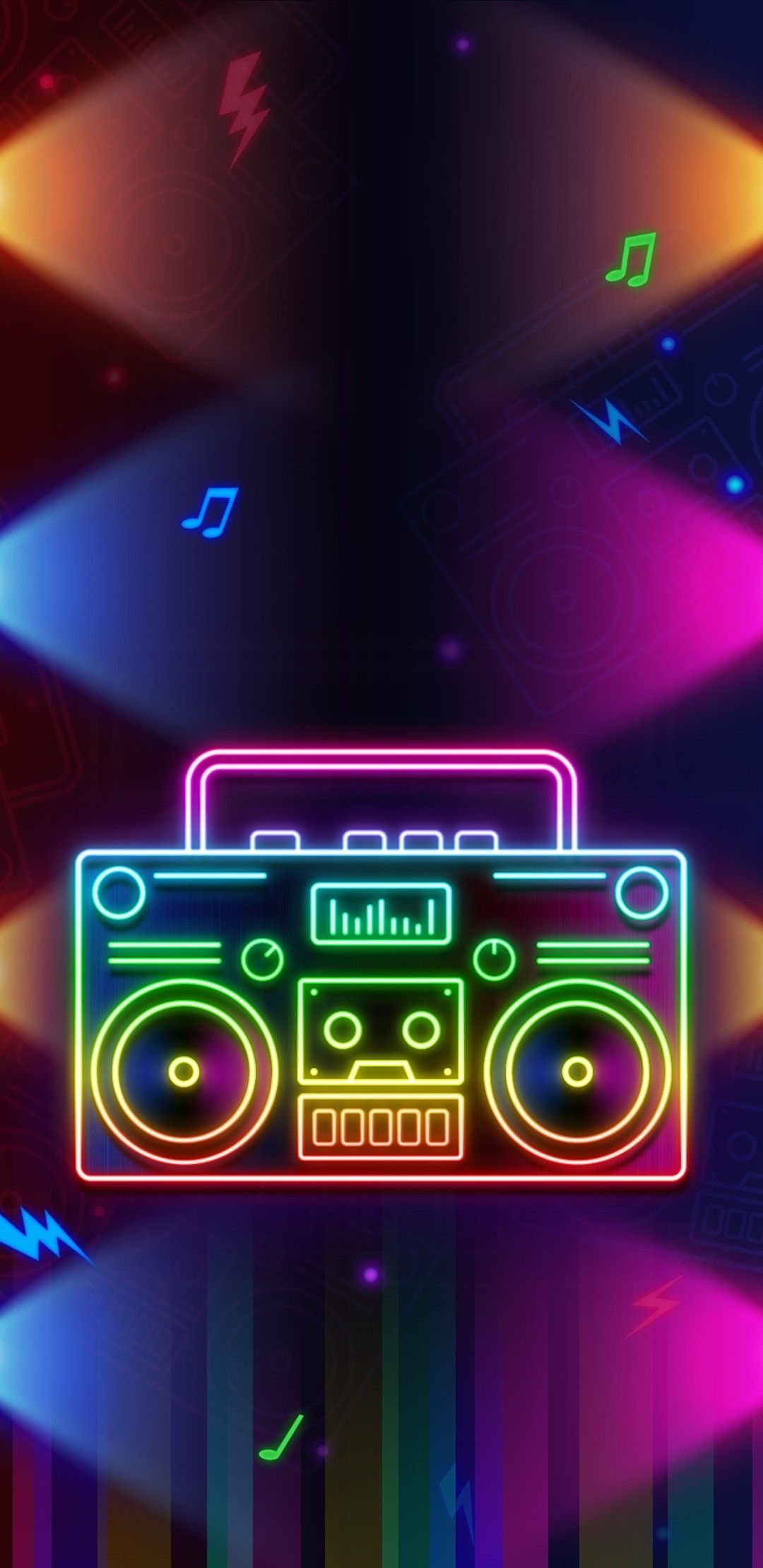 Pin By Kathy Beckwith On Girly Droid Wallpapers Neon Wallpaper Neon Design Rainbow Colors