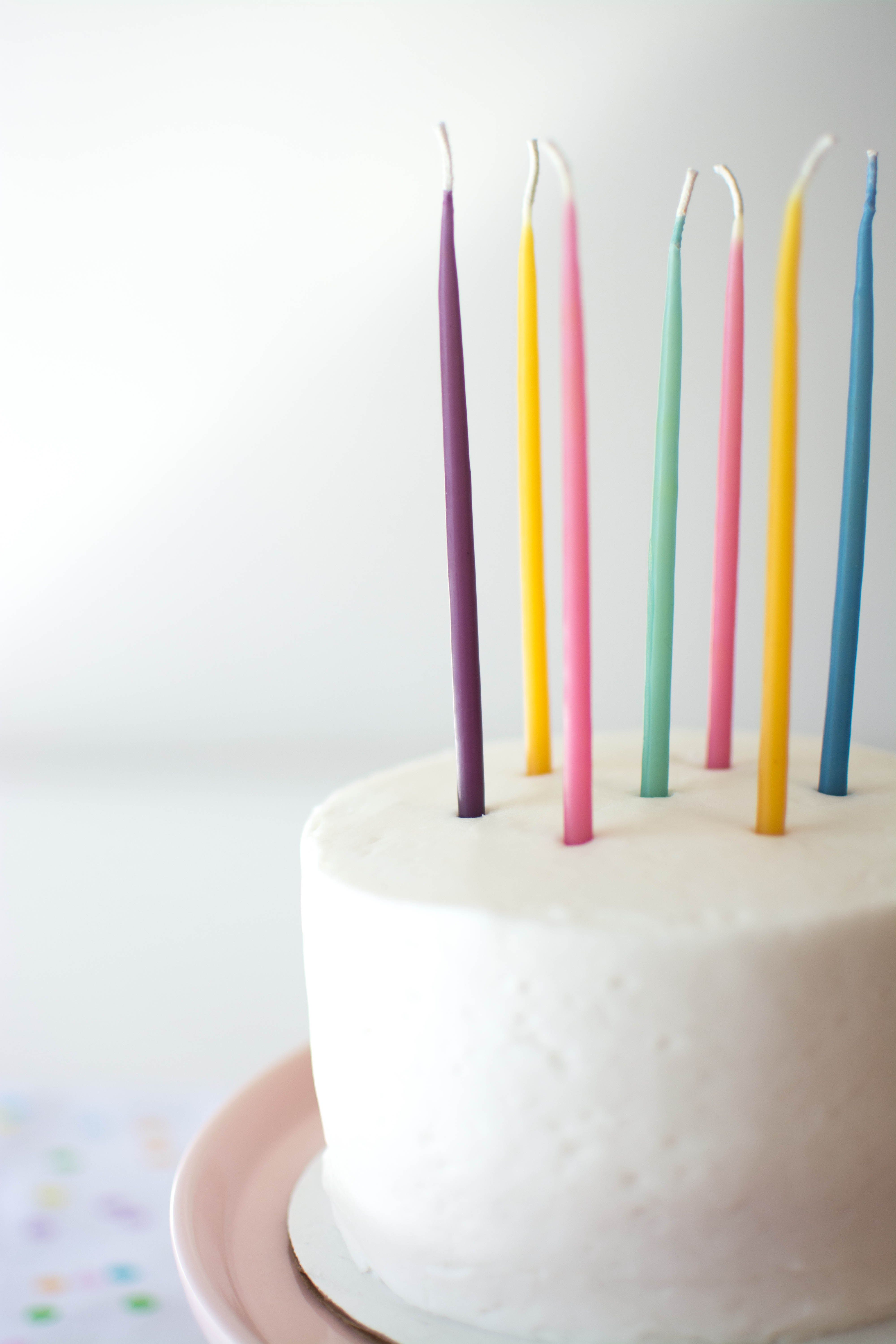 Long Birthday Candles