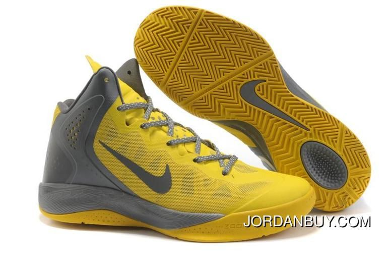 Nike Zoom Hyperfuse 2012 Yellow Gray Super Deals, Price: - Air Jordan Shoes,  New Jordan Shoes, Michael Jordan Shoes