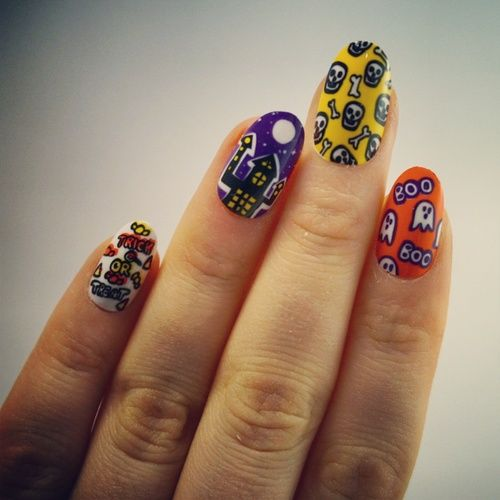 10blankcanvases: More Elegant Touch Halloween false nails ...