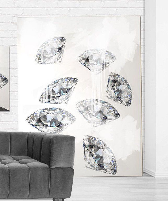 living room art prints%0A Room    Diamond Modern Art Prints