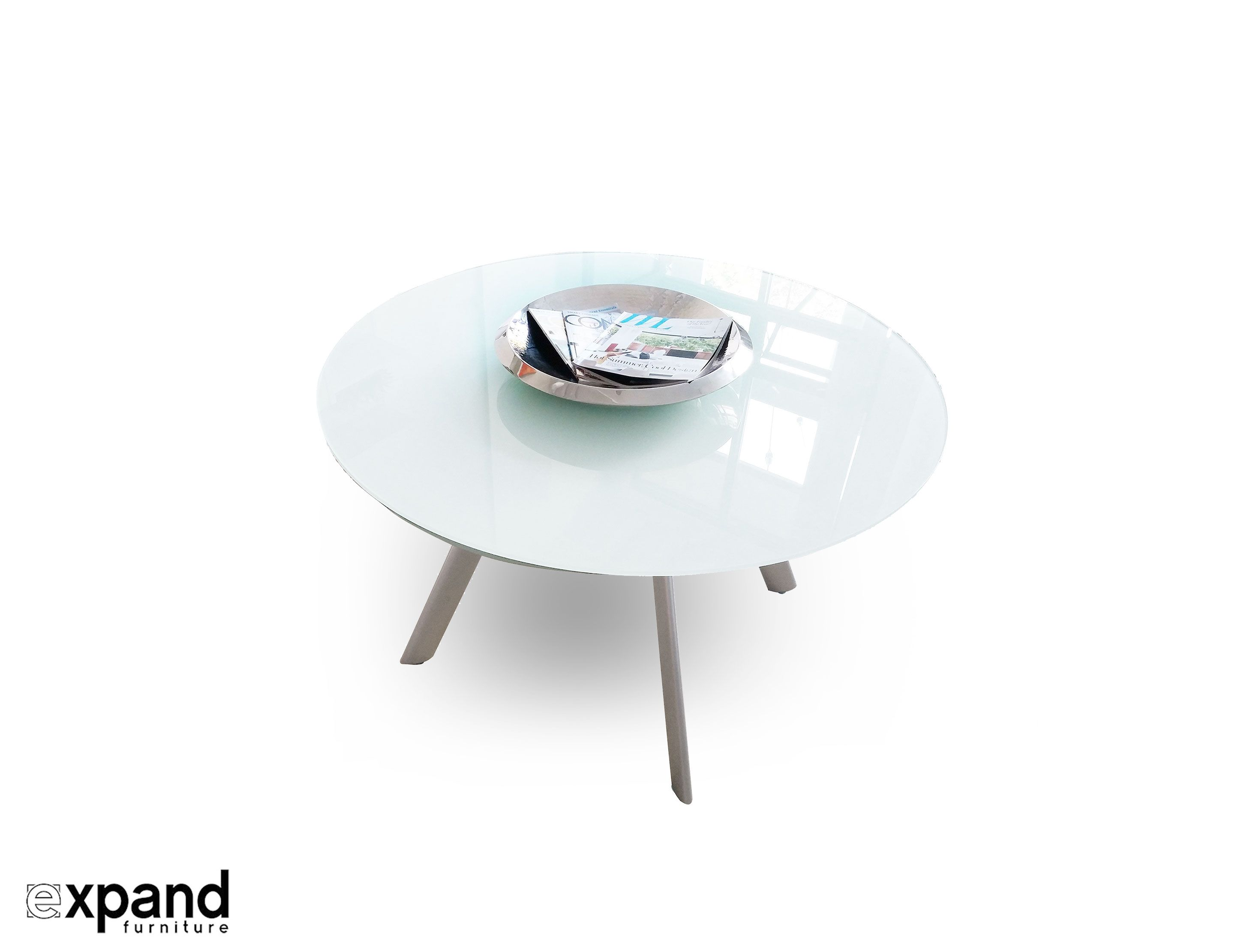 The Butterfly Expandable Round Glass Dining Table Glass Round Dining Table Glass Dining Table Glass Dinning Table [ 2222 x 2888 Pixel ]