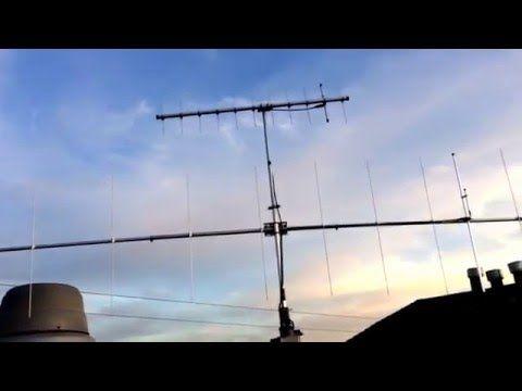 Installation Of Cushcraft A148 10s 2m 10 Element Yagi Installation Antenna Rotators Rooftop