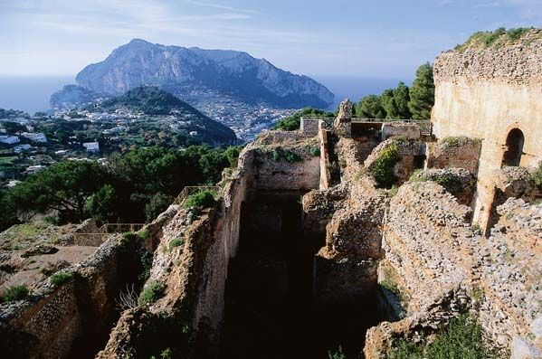 Villa Jovis Capri italy, Capri, Villa