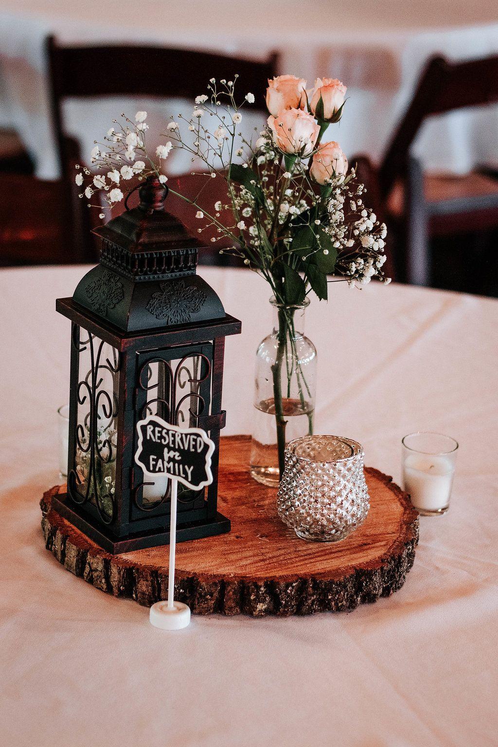 Lantern Summer Wedding Decor Modern Rustic Wedding Centerpieces