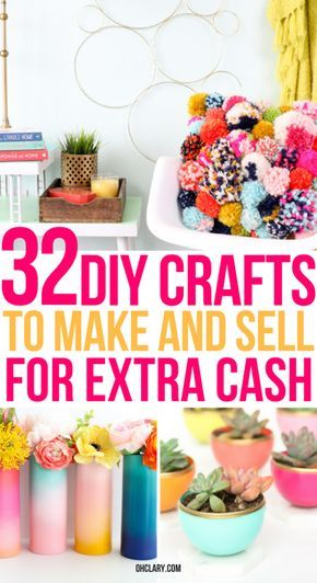 32+ Easy Crafts To Make And Sell For Extra Money From Home. These quick…