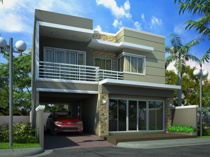 50 square meters house exterior designs - Google Search | Dream land ...