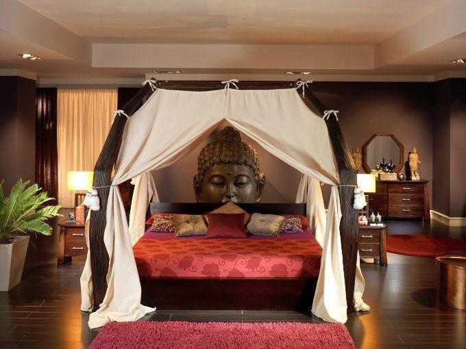 chambre-bambou-sarang-buaya-decoration-exotique | Ambiance zen ...